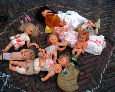 Mutulated dolls